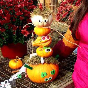 Sat Oct 30 Kid's Class: Gourd Totem Pole